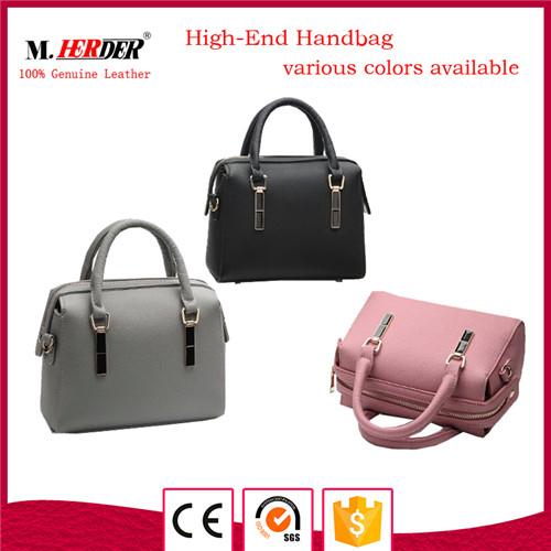 Fashion women leather handbag MD9057