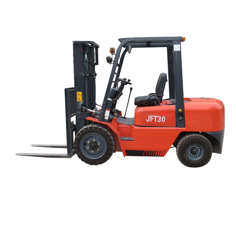 3 ton diesel forklift with four wheel drive for sale cheap price