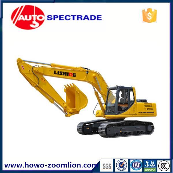 22 ton excavator China Lishide SC220.8 low price