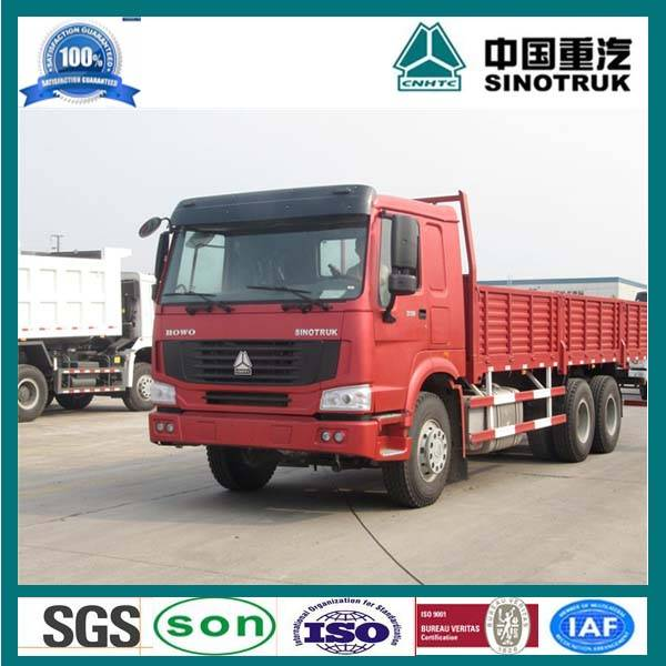 10 Wheel 30 ton HOWO Cargo Truck For Sale