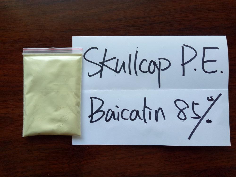 Scutellaria Baicalensis Extract Baicalin Powder 80%-95%