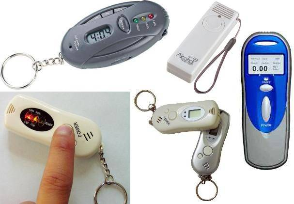Personal Alcohol Breath Tester (Breathalyzer for Driver's safety)