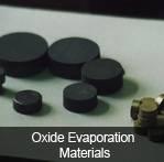 Oxide Evaporation Materials