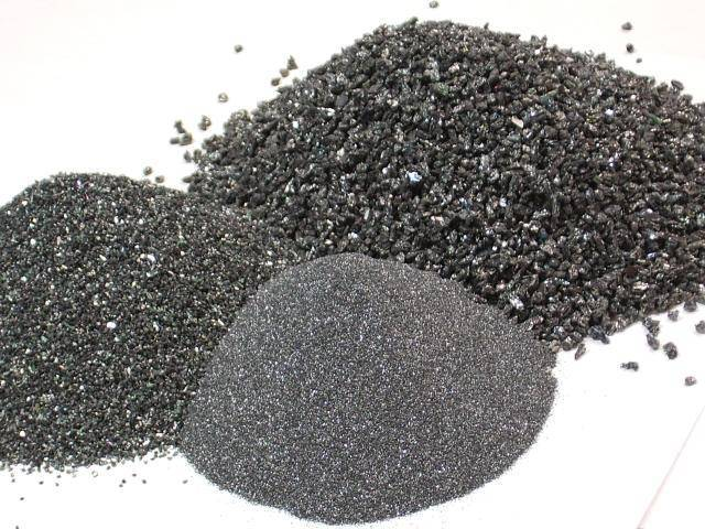 High purity of Green silicon carbide F14 with low Carbon & Fe2O3