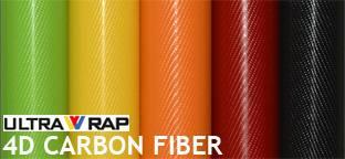 Ultrawrap 4D carbon fiber vinyl with bubble free