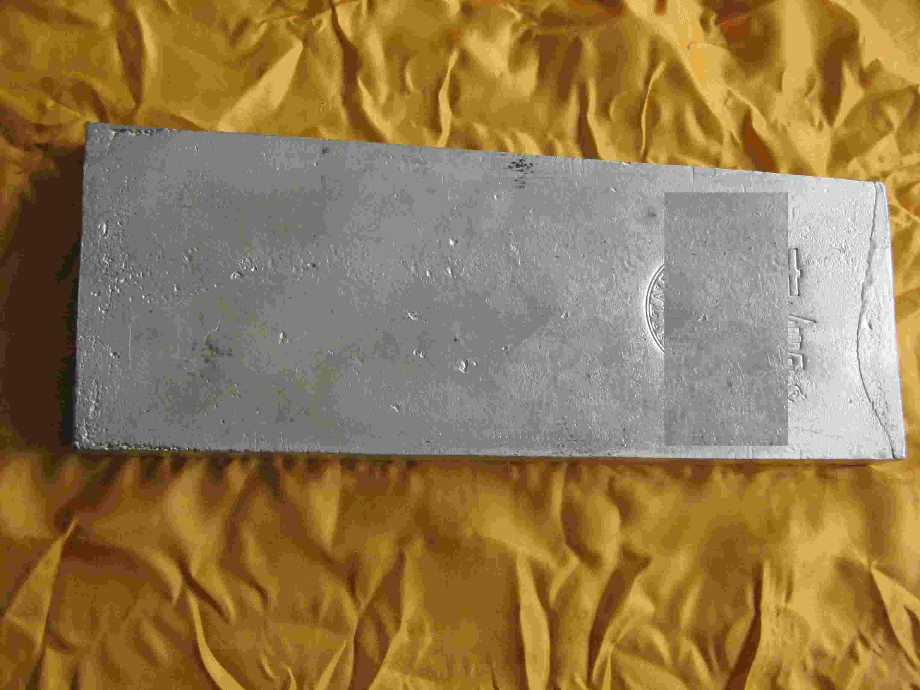 Silver metal ingots 99,99%