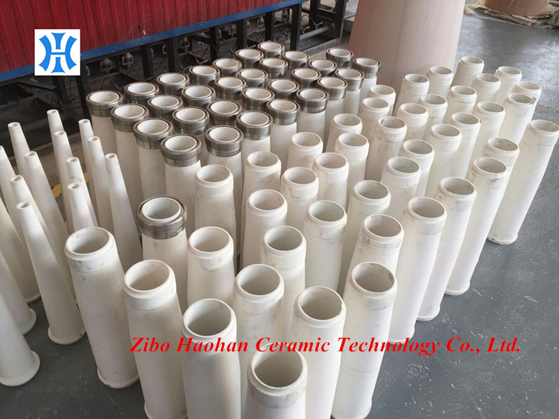China made Andritz AHLcleaner SC133/TC133 Ceramic Classifier Pipe and Cone