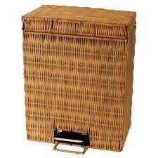 ECO- FRIENDLY BAMBOO BASKET DUSTBIN MS CINDY Whatsapp: +84 868 704 600