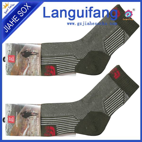 sports socks suppliers/seamless cotton ankle striped sports socks