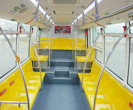 Metro Style, Low Floor, CNG / diesel AC City Bus