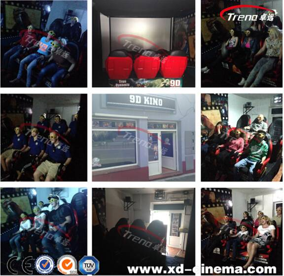 Hot sell 5D7D9D12D cinema with servo motor factory
