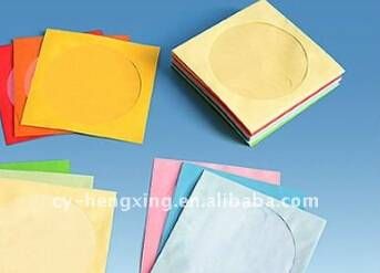 Colorful cardboard cd sleeve