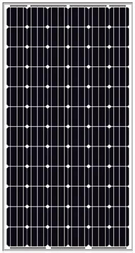 300w mono PV panel