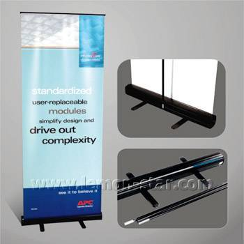 Roll up banner stand advertising display