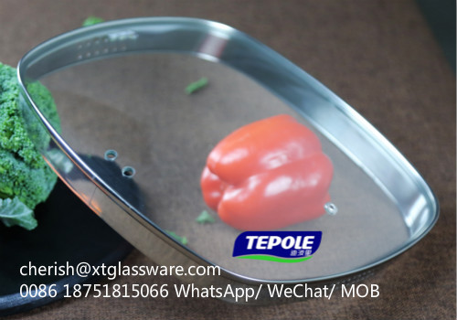 Glass Lid Factory in China With FDA LFGB