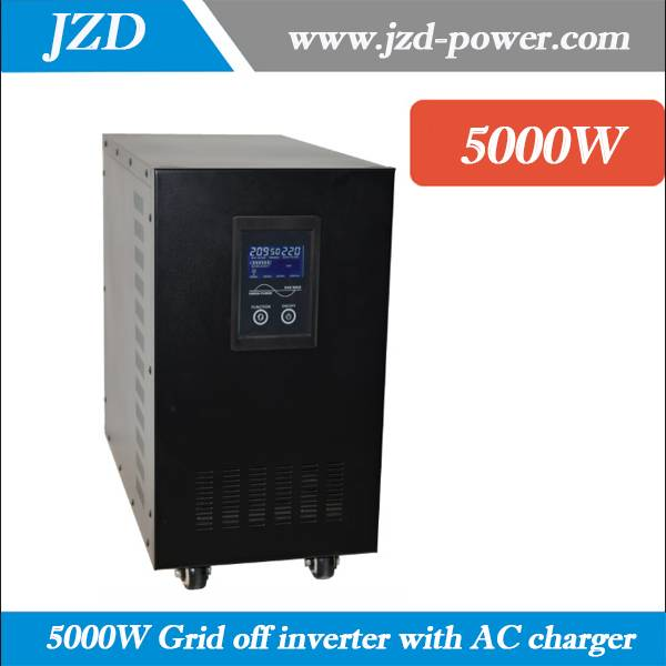 5000W Grid off dc to ac Inverter 48VDC to 220VAC 50HZ low Frenquency Inverter Single inverter