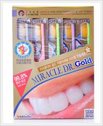 Miracle Dr Gold / Silver Toothbrush