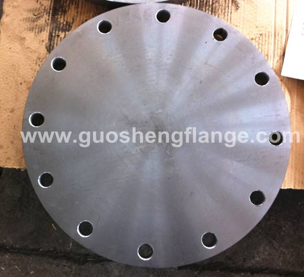Carbon steel blind flanges supplied by China manufacture