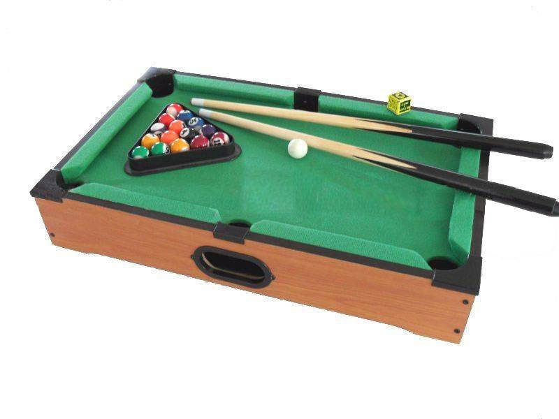 sell mini pool tables
