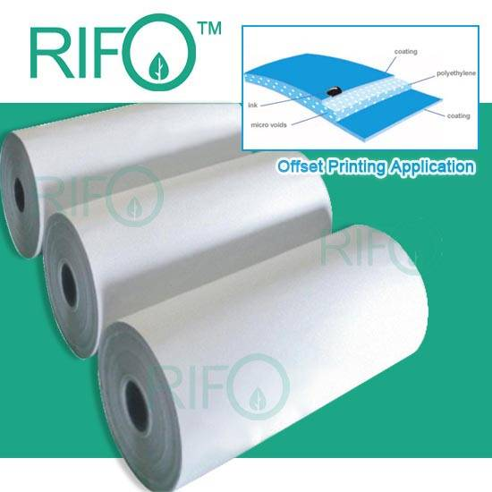 RPH-120 double coated synthetic paper