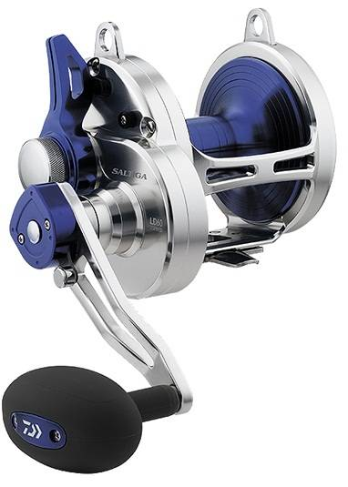 Daiwa Saltiga Lever Drag 2-Speed Fishing Reel