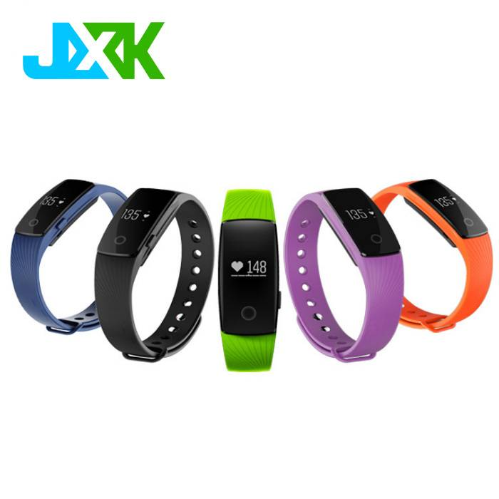 JXK Blood Oxyen presure monitor heart rate smart bracelet M3 with health sleep monitoring for Androi