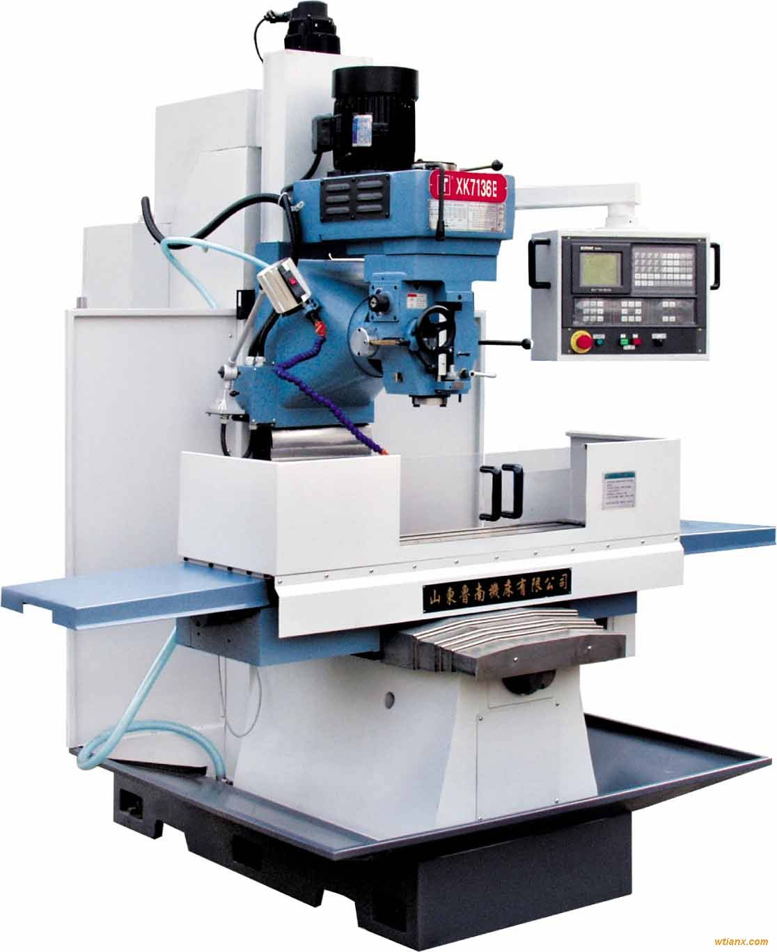 Vertical CNC Milling Machine(XK7136B, ZXK7130A, ZXK7130)