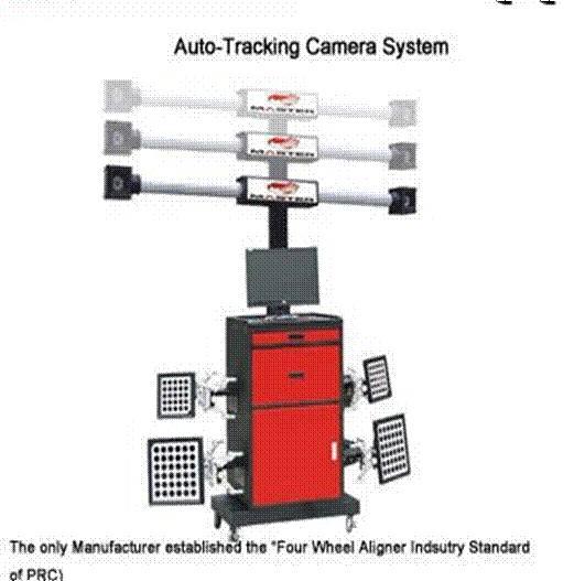 3D Wheel Aligner Auto-Tracking Camera System Inteligent Diagnosis CE Complaint Wholesale