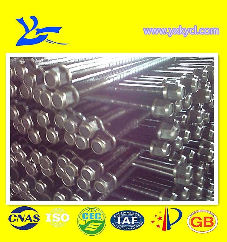 higg quality steel rebar bolt for mine supporting
