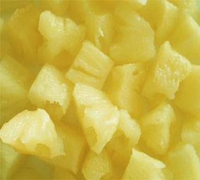 Canned Pineapple in Pieces