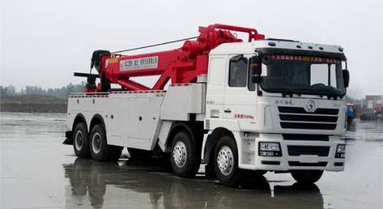 Shacman Recovery Truck 8x4