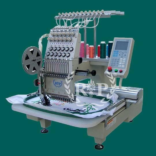 single head tubular embroidery machinery