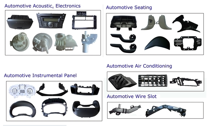 Automotive moulds