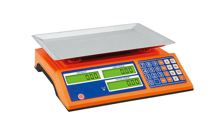 Dry and Rechargeable Lead-Acid Battery 30kg Digital Scale Machines