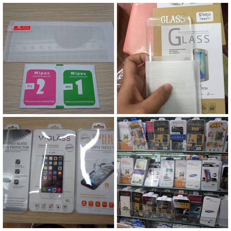 Mobile phone Tempered Glass Screen Protector Films for Samsung,iphone, HuaWei,Tecno, Infinix, ITEL