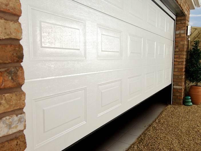 flat garage door