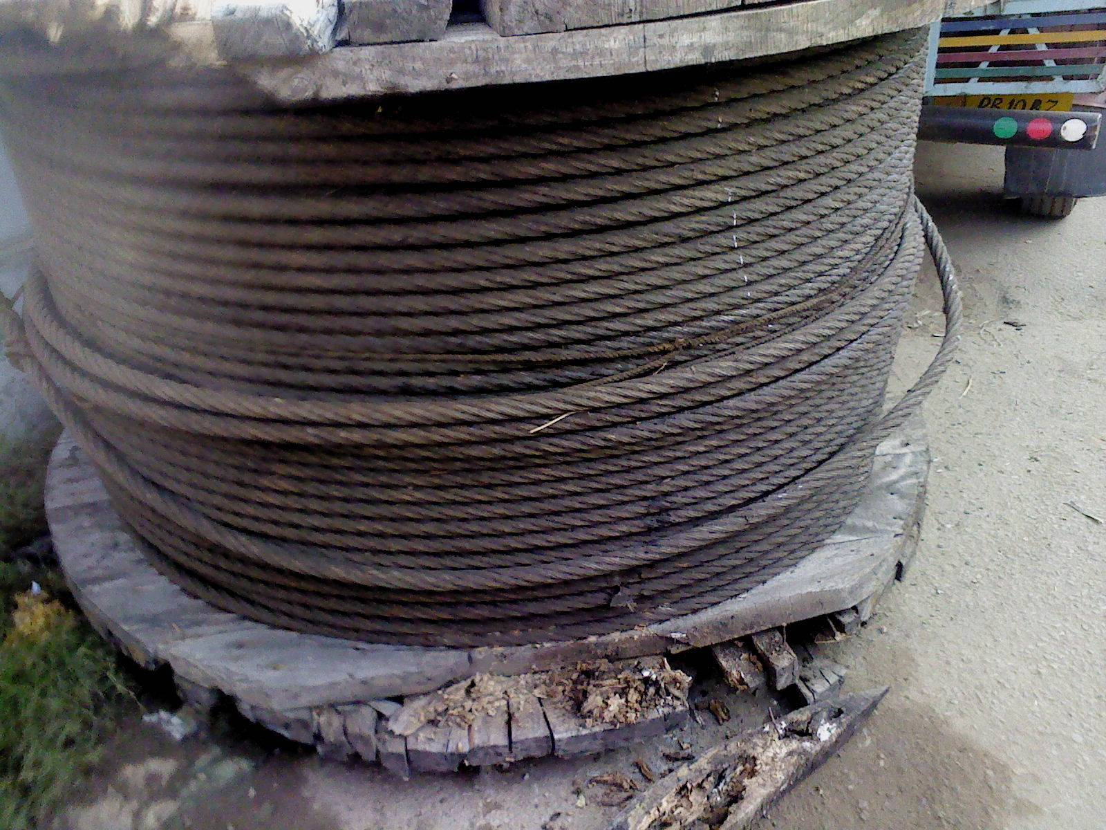 wire rope scrap