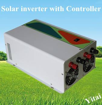 Hybrid Solar Inverter with Build in Solar Charge Controller