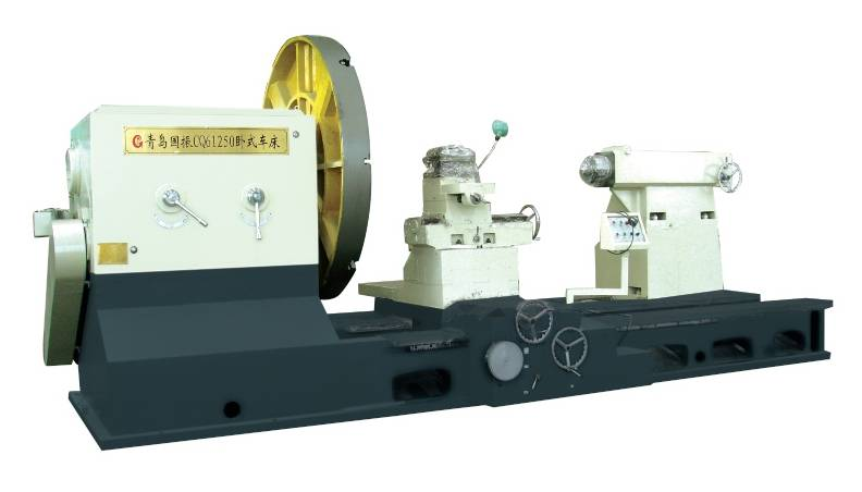 China Big-Bore Spindle Rotor Turning Lathe Heavy Duty Horizontal Lathe Machine