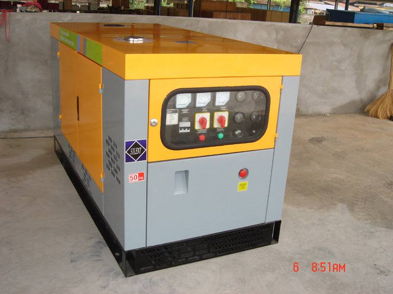 water cooled generator set