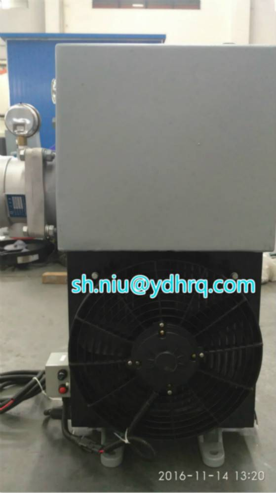 Oil cooler for concrete mixer engineering machinery cooler