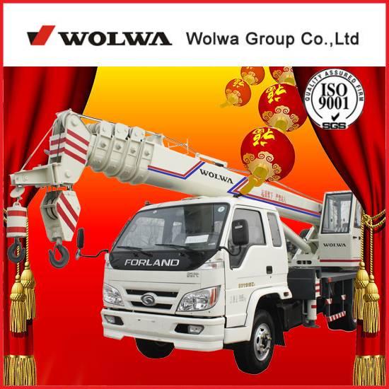 6 ton truck mounted crane