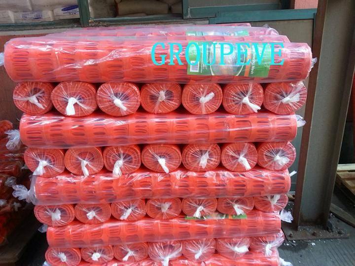Orange Plastic HDPE Safety Snow Fence Barrier Mesh