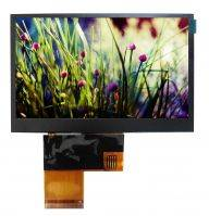 4.3 TFT LCD with high brightness (1000nits)