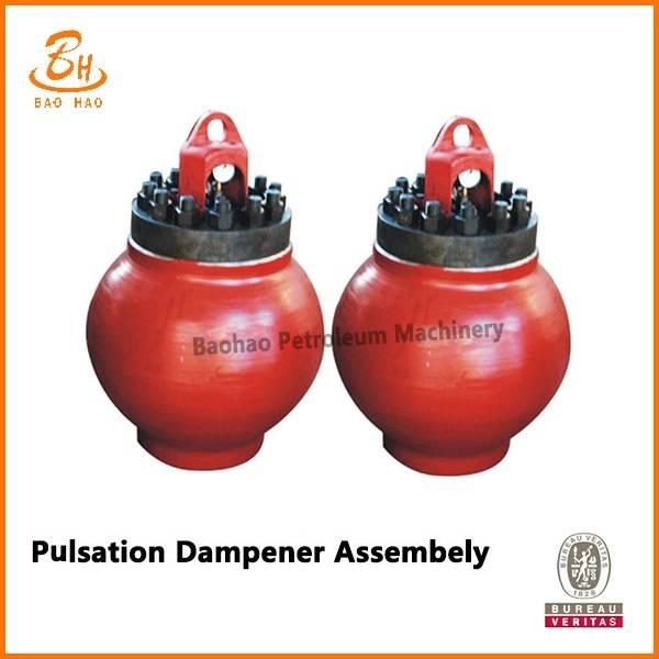 pulsation dampener assembly