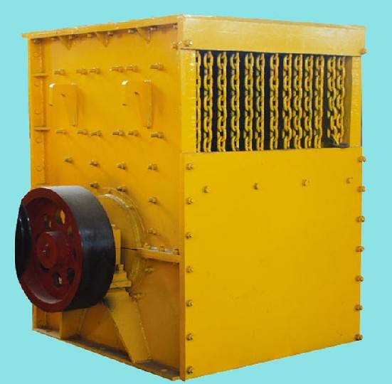 HSM box type crusher used in stone production line