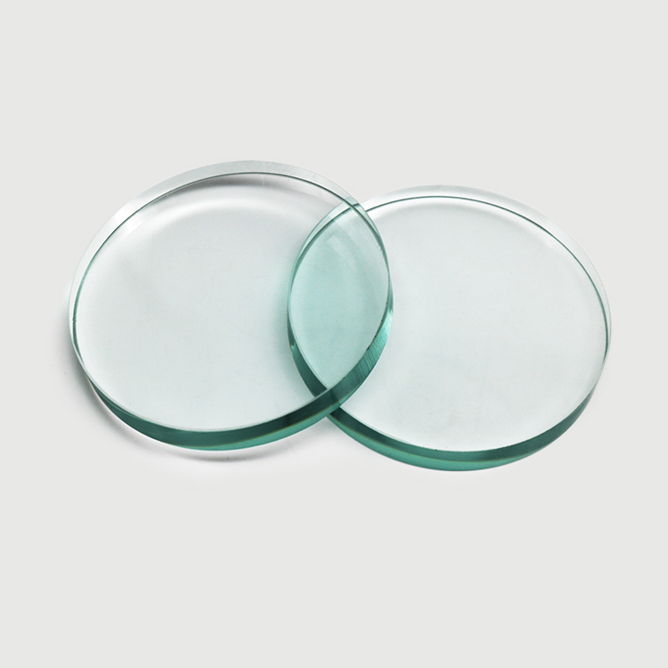 Sight glass disc with polished edges