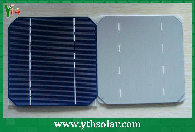 125x125mm solar cell with monocrystalline silicon material for sale