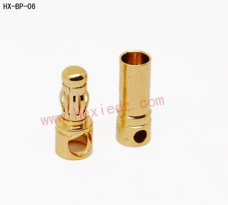 3.5mm Gold Plated Banana Connectors