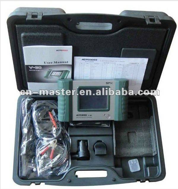 SPX Autoboss V30 auto diagnostic scanner with Printer Update Online Free Two Years